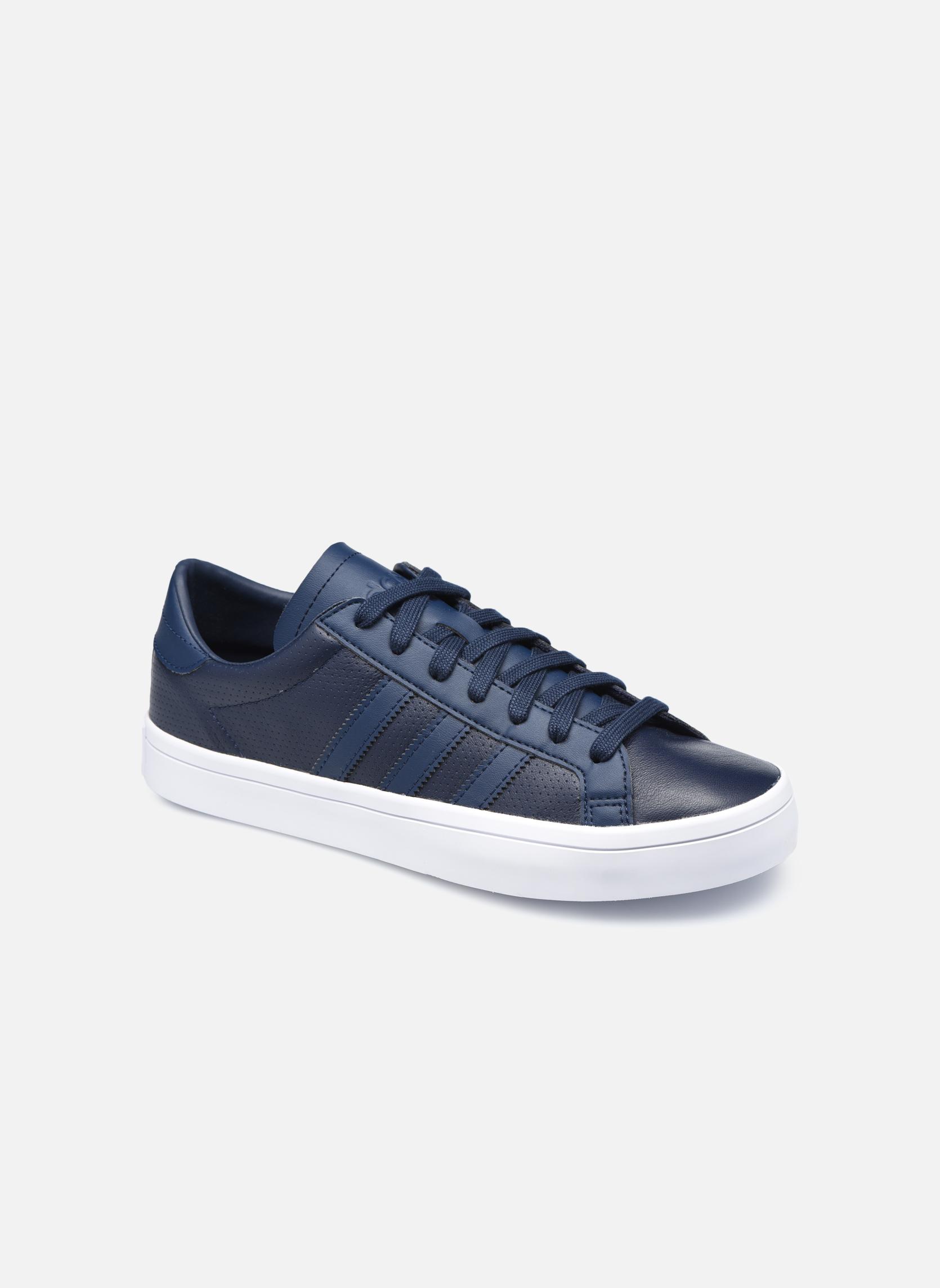 Sneakers Adidas Originals Court Vantage H Azzurro vedi dettaglio/paio