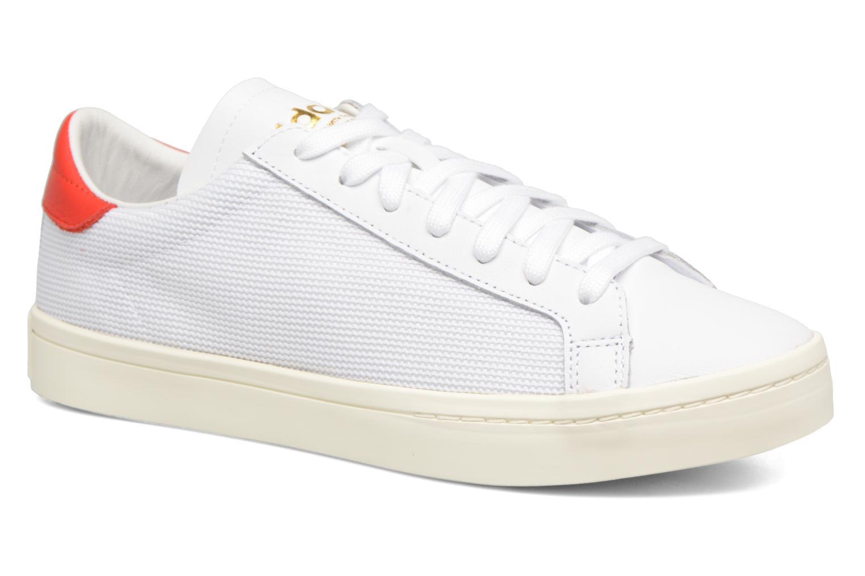 Trainers Adidas Originals Court Vantage H White detailed view/ Pair view