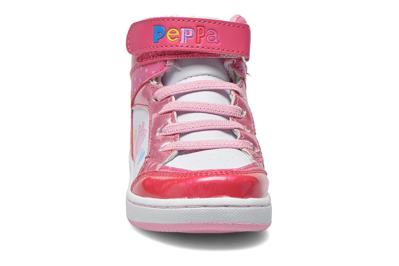 Baskets Peppa Pig Fantone Rose vue portées chaussures