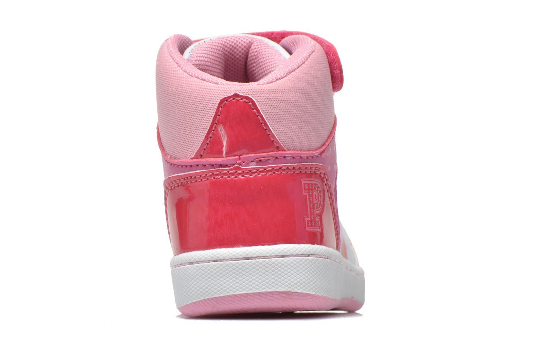 Baskets Peppa Pig Fantone Rose vue droite