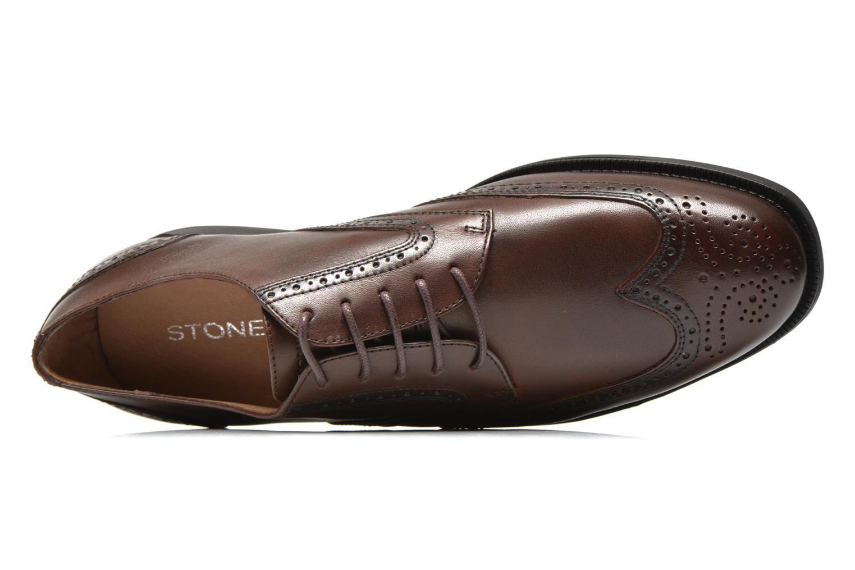 Chaussures à lacets Stonefly Berry 5 Marron vue gauche