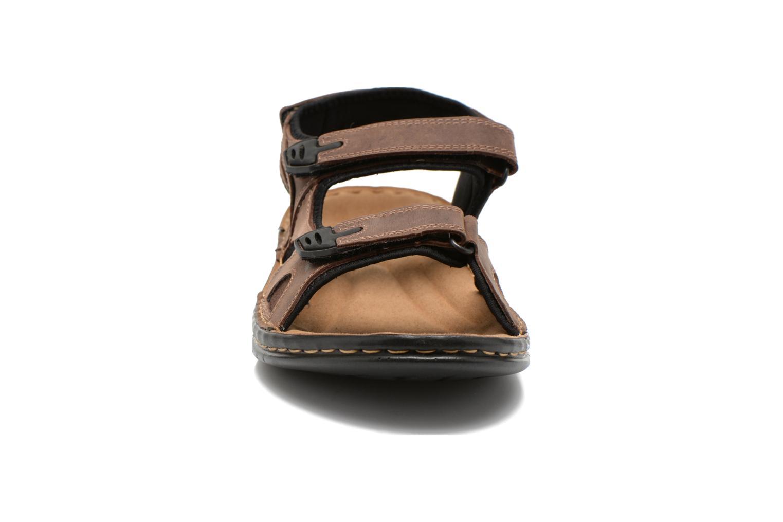 Sandales et nu-pieds TBS Easy Walk Berric Marron vue portées chaussures
