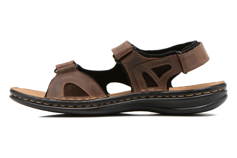 Sandales et nu-pieds TBS Easy Walk Berric Marron vue face