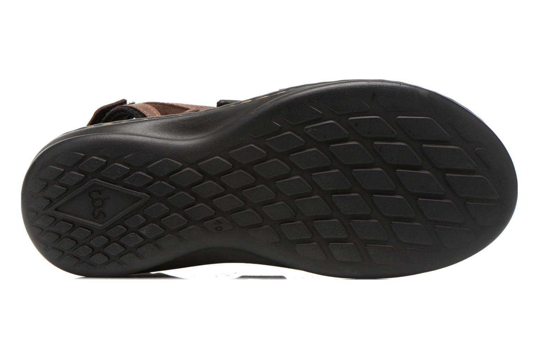 Sandales et nu-pieds TBS Easy Walk Berric Marron vue haut