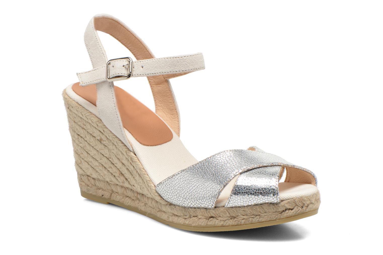 Sandales et nu-pieds Kanna Camoa Beige vue détail/paire