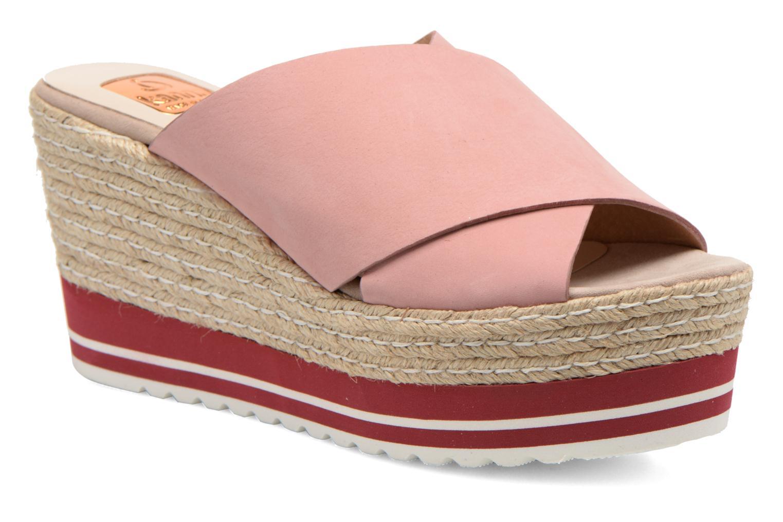 Grandes descuentos últimos zapatos Kanna Maria (Rosa) - Zuecos Descuento