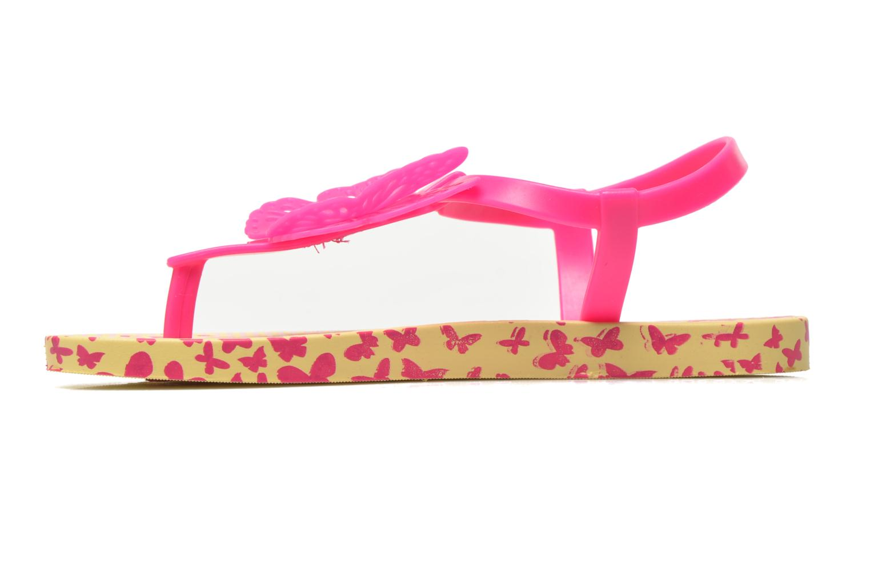 Flip flops Ipanema Charm Sandal IV Kids Gul bild från framsidan