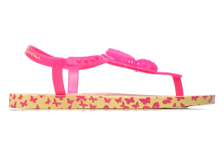 Flip flops Ipanema Charm Sandal IV Kids Gul bild från baksidan