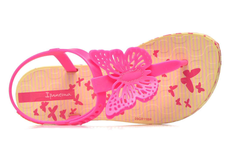 Flip flops Ipanema Charm Sandal IV Kids Gul bild från vänster sidan