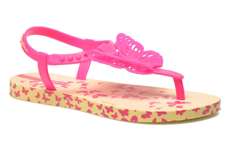 Flip flops Ipanema Charm Sandal IV Kids Yellow detailed view/ Pair view
