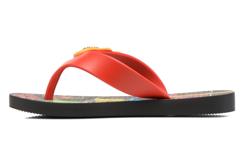 Flip flops Ipanema Hot Wheels Tyre Kids Multicolor front view