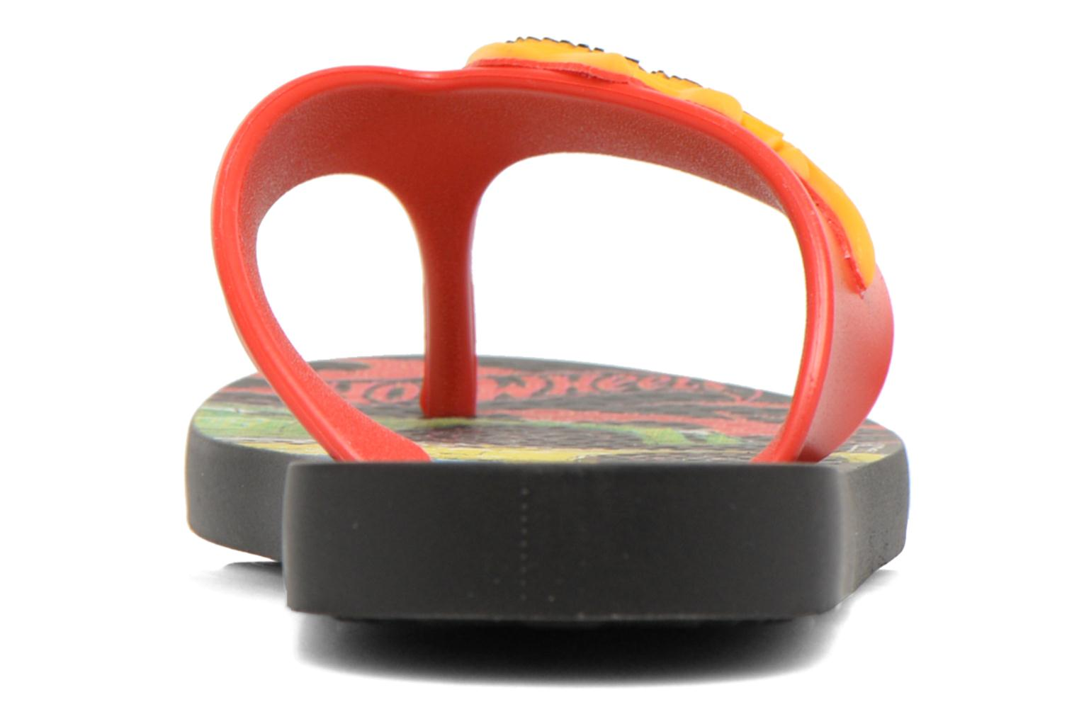 Flip flops Ipanema Hot Wheels Tyre Kids Multicolor view from the right