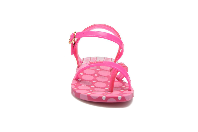 Sandales et nu-pieds Ipanema Fashion Sandal III Kids Rose vue portées chaussures