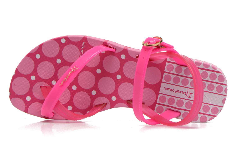 Sandales et nu-pieds Ipanema Fashion Sandal III Kids Rose vue gauche