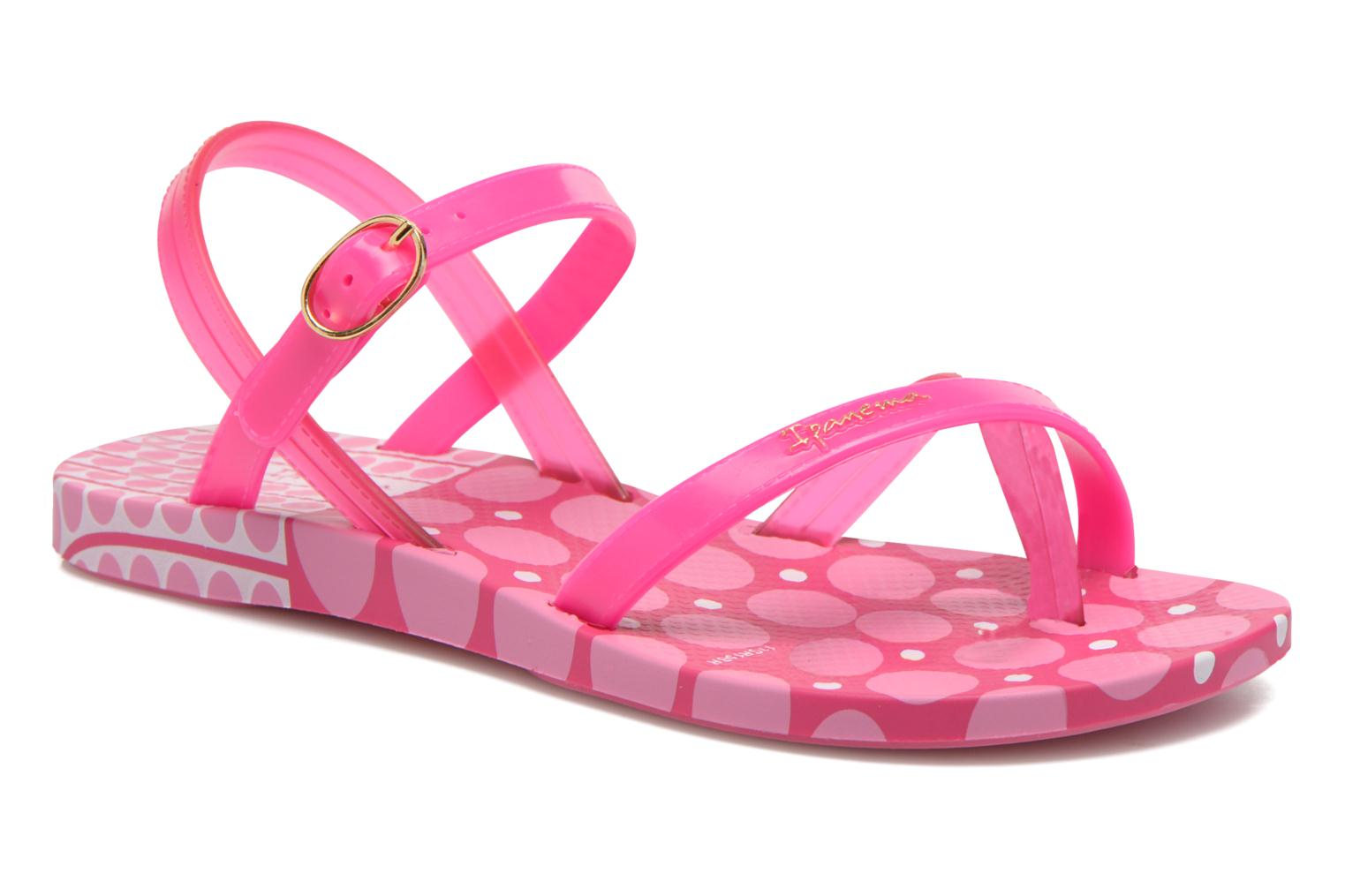Sandals Ipanema Fashion Sandal III Kids Pink detailed view/ Pair view