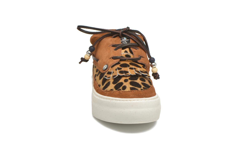 Chaussures à lacets Dolfie Mahe Low Marron vue portées chaussures