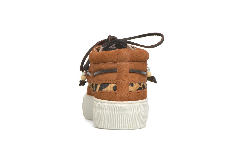 Chaussures à lacets Dolfie Mahe Low Marron vue droite