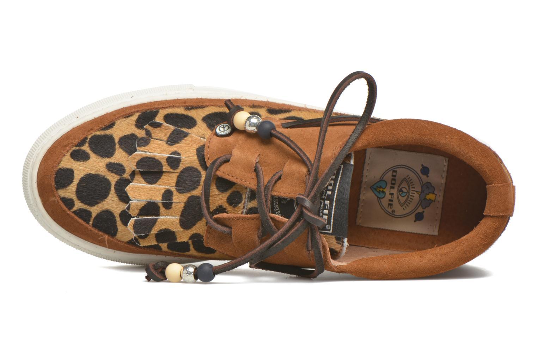 Chaussures à lacets Dolfie Mahe Low Marron vue gauche