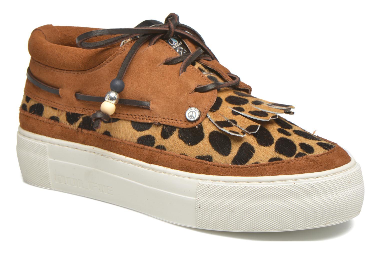 Chaussures à lacets Dolfie Mahe Low Marron vue détail/paire