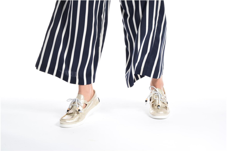 Chaussures à lacets Dolfie Landom Or et bronze vue bas / vue portée sac