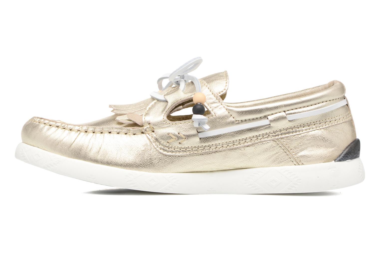 Chaussures à lacets Dolfie Landom Or et bronze vue face