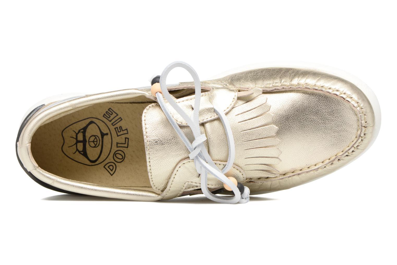 Chaussures à lacets Dolfie Landom Or et bronze vue gauche