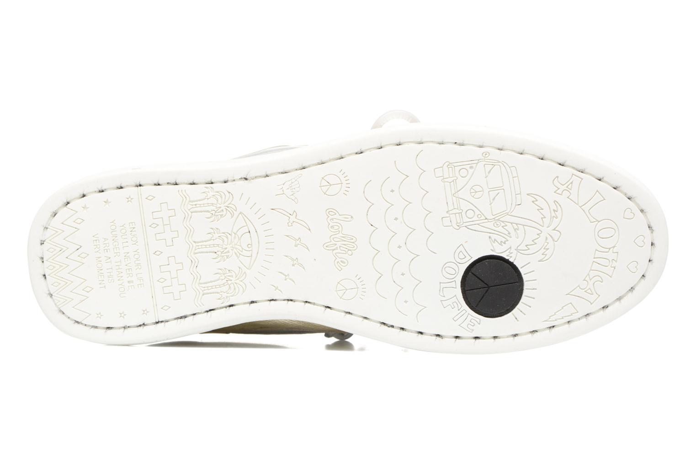 Chaussures à lacets Dolfie Landom Or et bronze vue haut