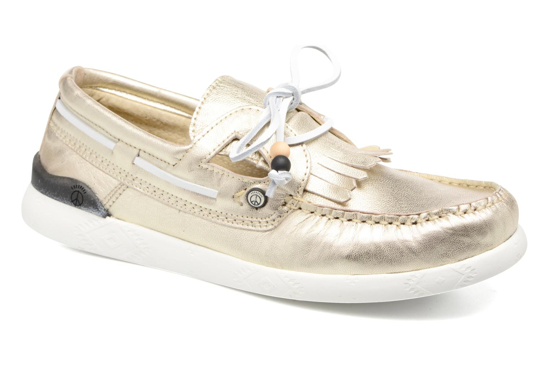 cb1e161453139 Grandes descuentos últimos zapatos Dolfie Landom (Oro y bronce) - Zapatos  con cordones Descuento