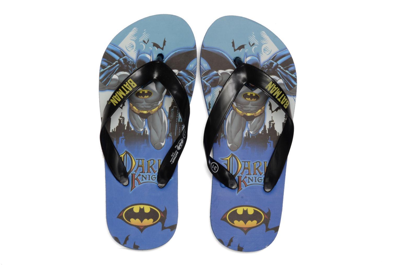 Tongs Batman Bat Tabessa Ss Bleu vue 3/4