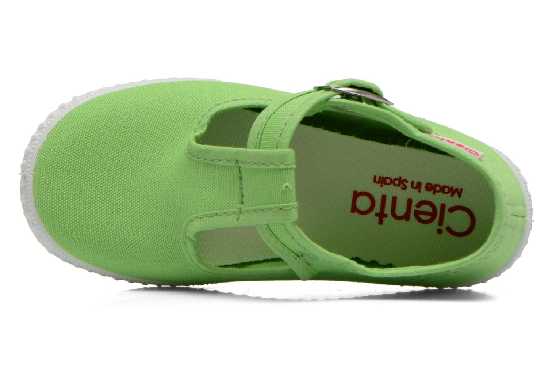 Sneakers Cienta Foliv Verde immagine sinistra