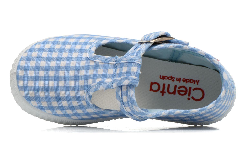 Sneakers Cienta Foliv Azzurro immagine sinistra