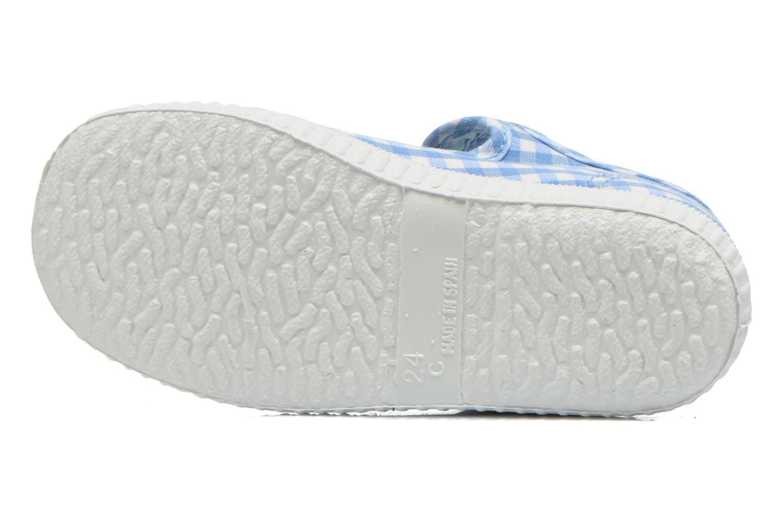 Sneakers Cienta Foliv Azzurro immagine dall'alto