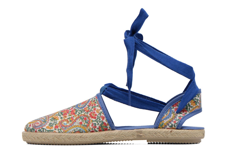 Sandales et nu-pieds Cienta Alicia Bleu vue face