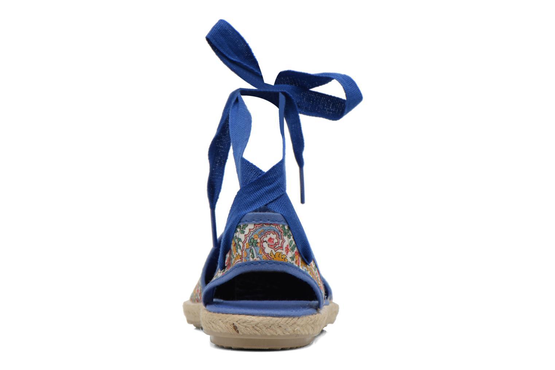 Sandales et nu-pieds Cienta Alicia Bleu vue droite