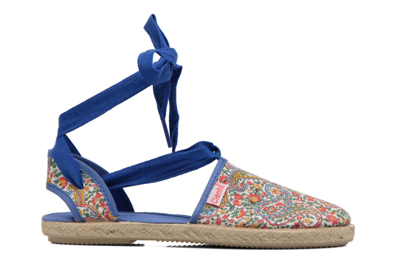 Sandales et nu-pieds Cienta Alicia Bleu vue derrière