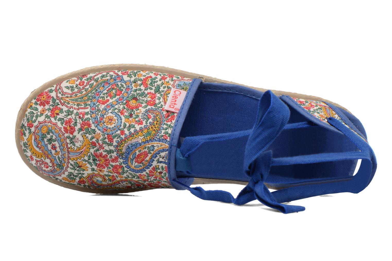 Sandales et nu-pieds Cienta Alicia Bleu vue gauche
