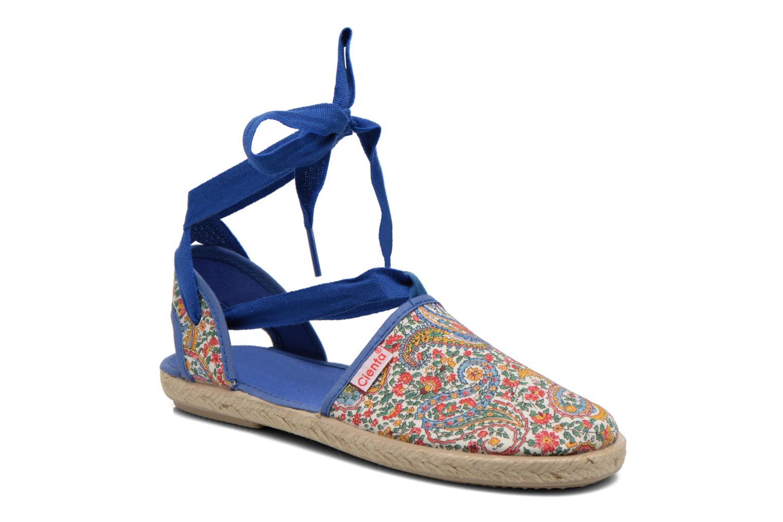 Sandales et nu-pieds Cienta Alicia Bleu vue détail/paire