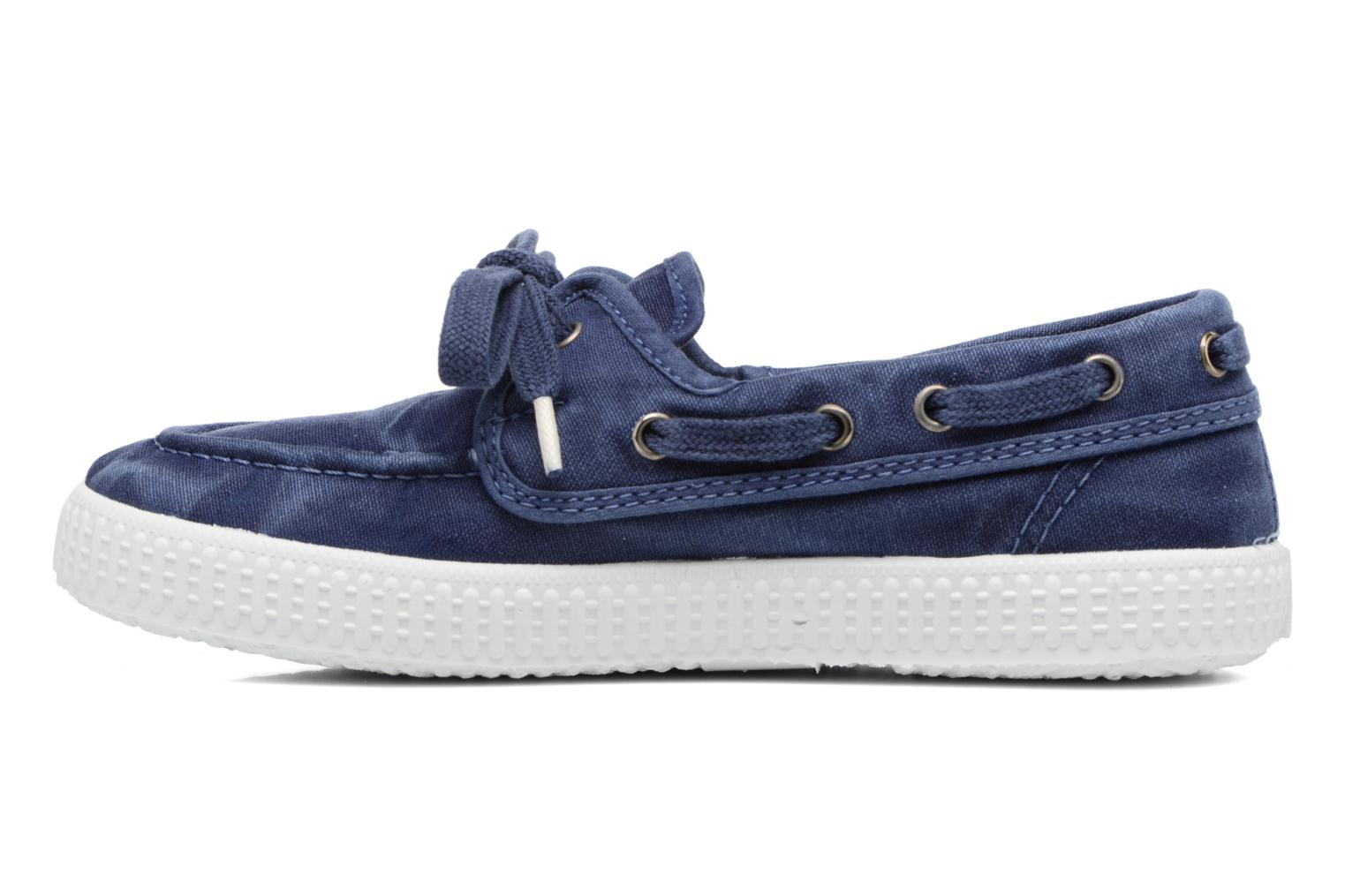 Lace-up shoes Cienta Martino Blue front view