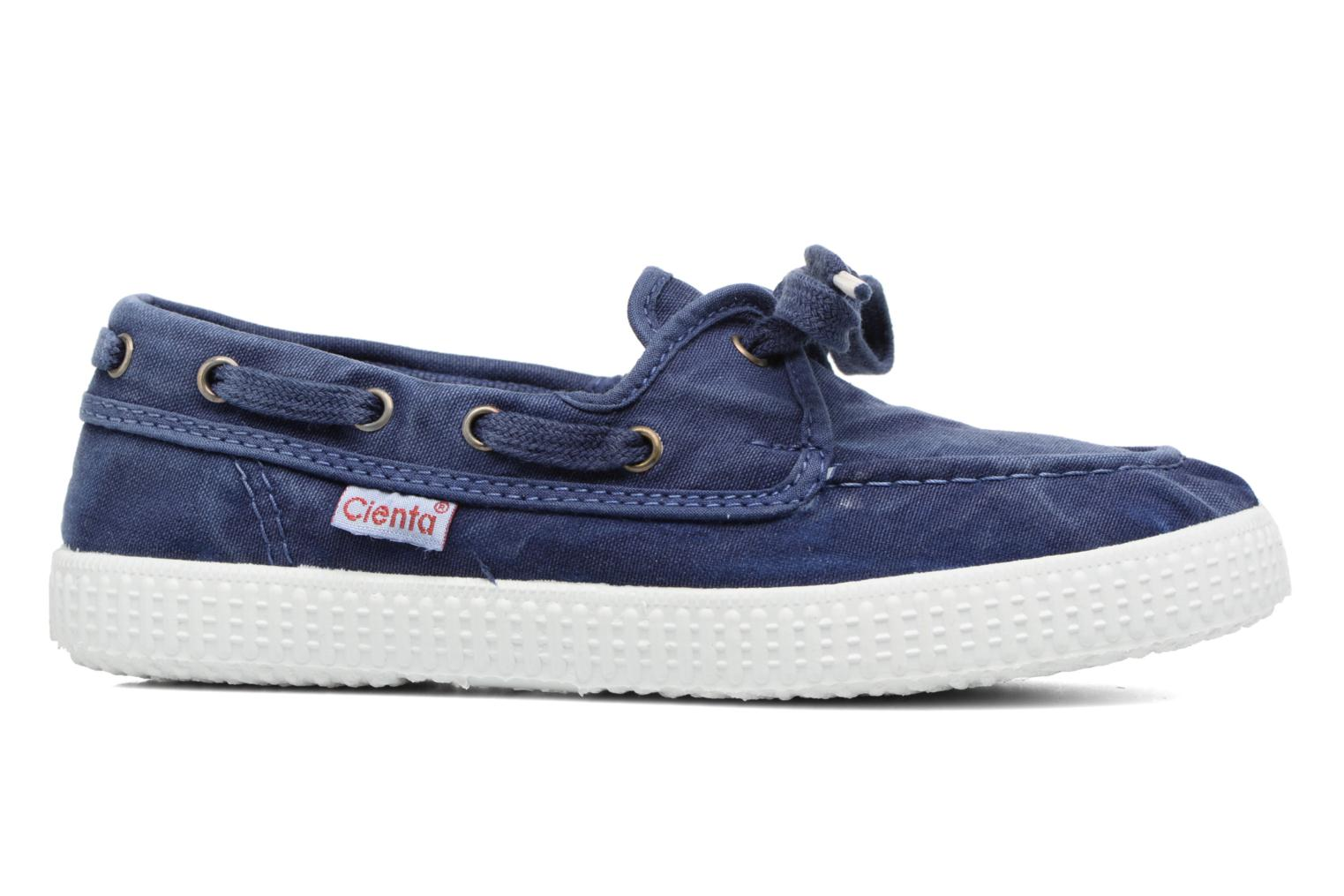Lace-up shoes Cienta Martino Blue back view