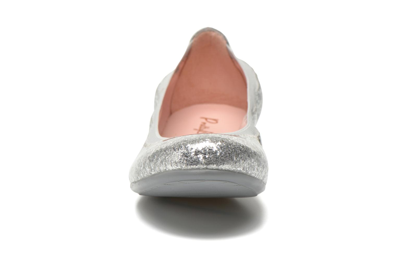 Ballet pumps Pretty Ballerinas Shirley Silver model view