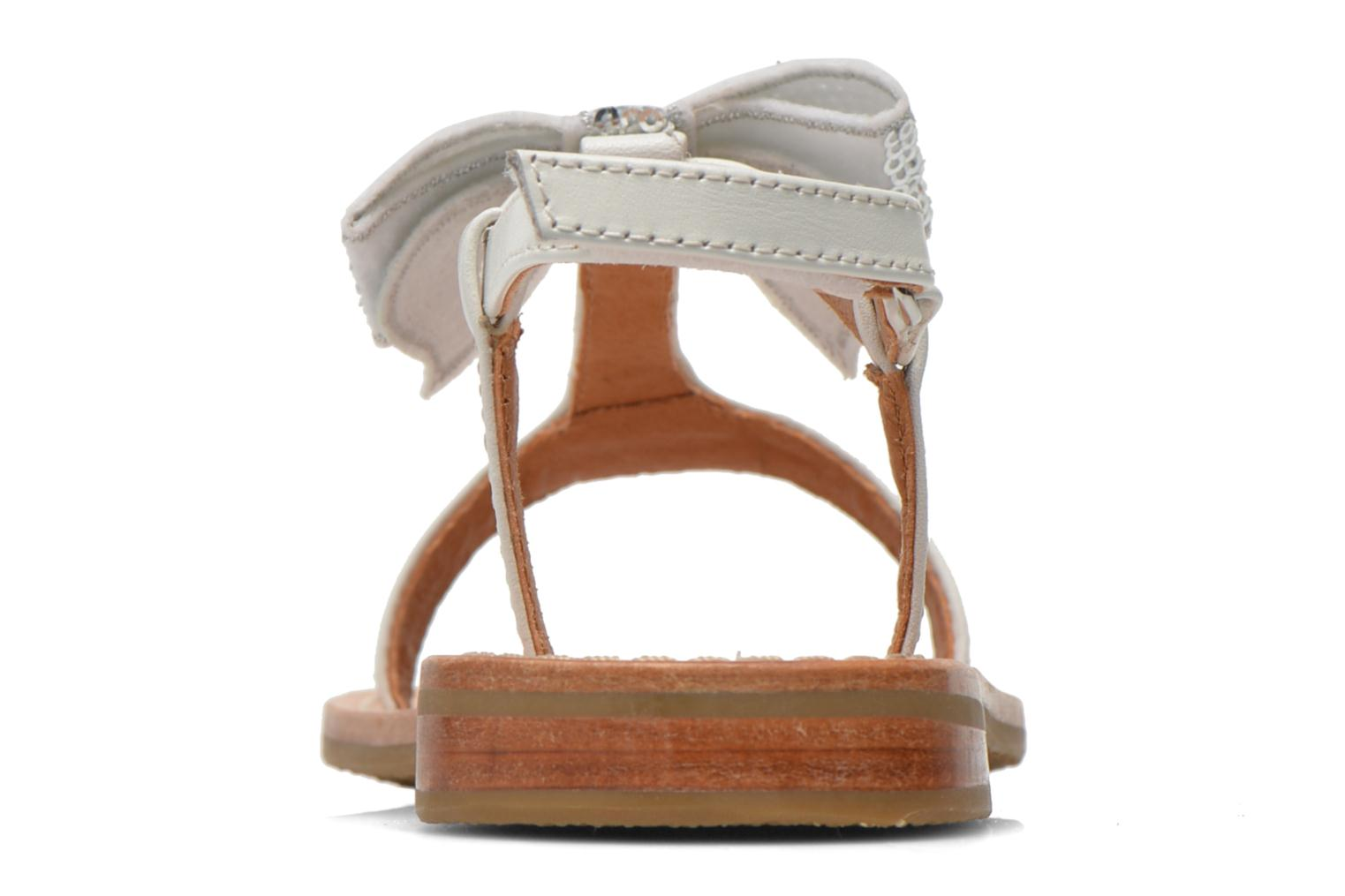 Sandals Mellow Yellow Mnvablist White view from the right