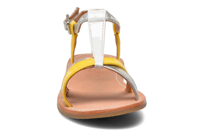 Sandales et nu-pieds Mellow Yellow Mnvalenti Multicolore vue portées chaussures