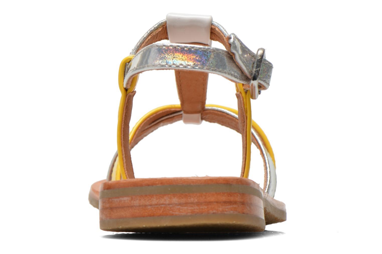 Sandales et nu-pieds Mellow Yellow Mnvalenti Multicolore vue droite