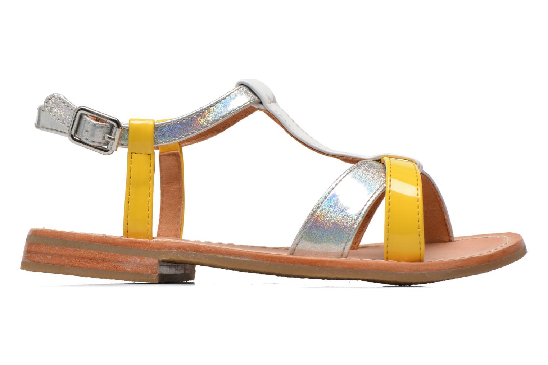 Sandales et nu-pieds Mellow Yellow Mnvalenti Multicolore vue derrière