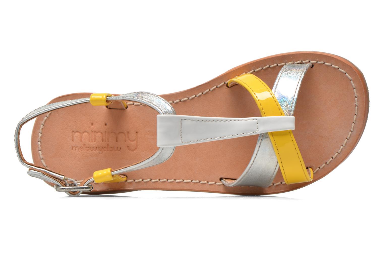 Sandales et nu-pieds Mellow Yellow Mnvalenti Multicolore vue gauche