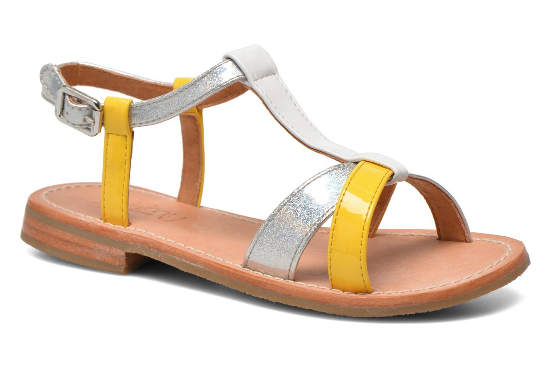 Sandales et nu-pieds Mellow Yellow Mnvalenti Multicolore vue détail/paire