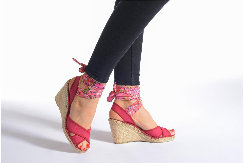 Sandales et nu-pieds Pare Gabia Kerine Bleu vue bas / vue portée sac