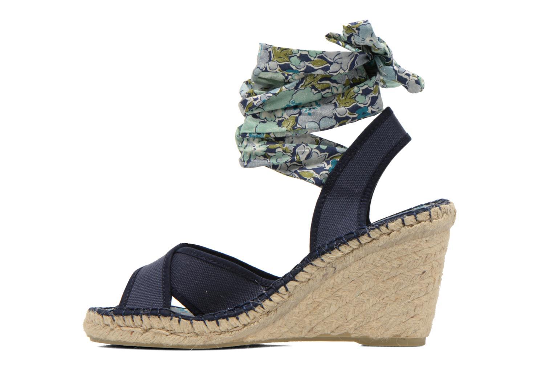 Sandals Pare Gabia Kerine Blue front view