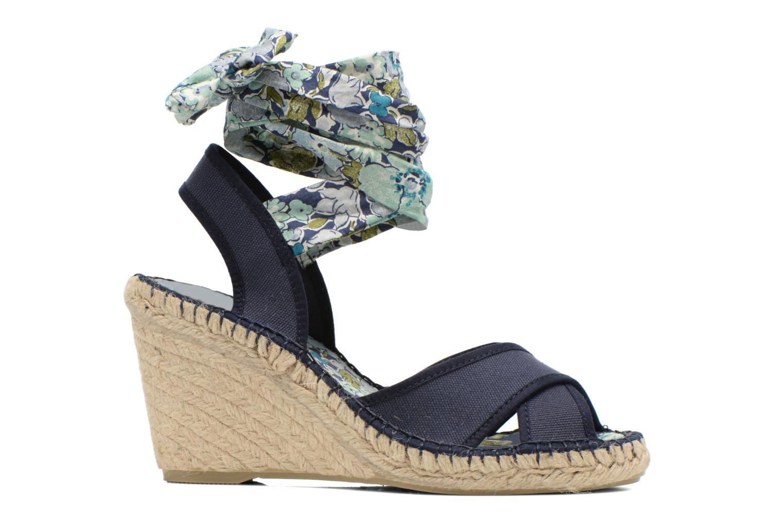 Sandalen Pare Gabia Kerine blau ansicht von hinten