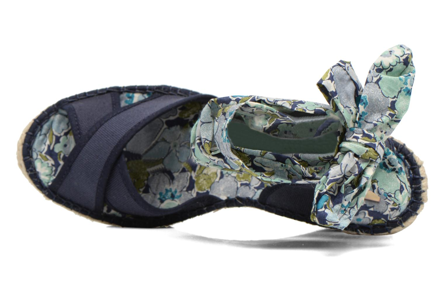 Sandals Pare Gabia Kerine Blue view from the left